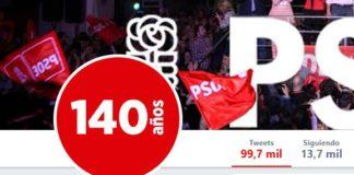 tweet del PSOE