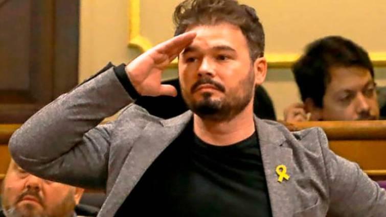 Gabriel Rufián critica que se use un Ministerio para hacer campaña política