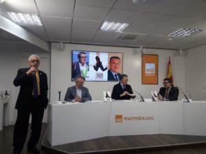 Álvaro Romero, Rafael Cerro, José R. Barrios y Francisco Serrano