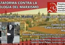 PLATAFORMA CONTRA LA APOLOGÍA DEL MARXISMO