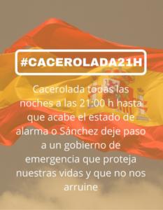 Cacerolada21h