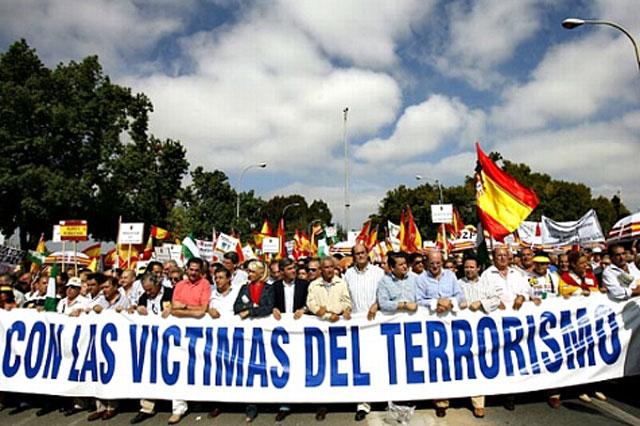 víctimas del terrorismo