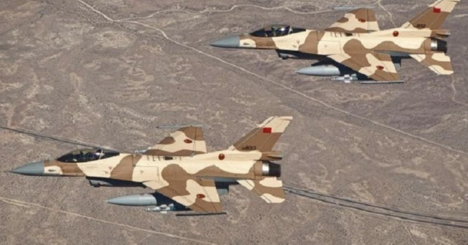 cazas del ejército marroquí