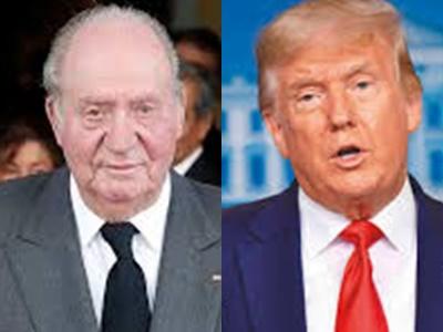 Existen fuertes rumores sobre conversaciones entre el Rey Juan Carlos y  Donald Trump para tratar el asunto del gobierno comunista de España - El  Diestro