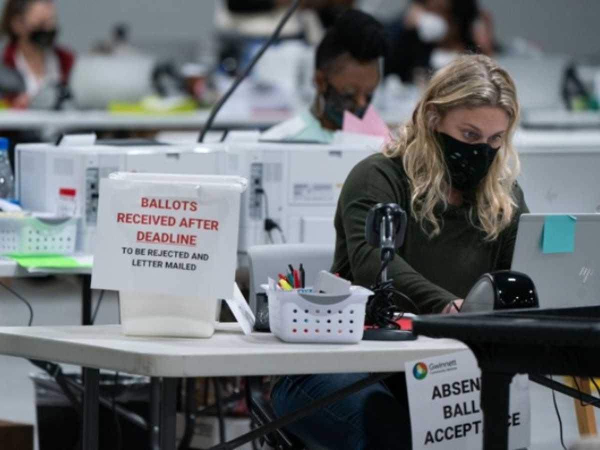 trabajadores electorales