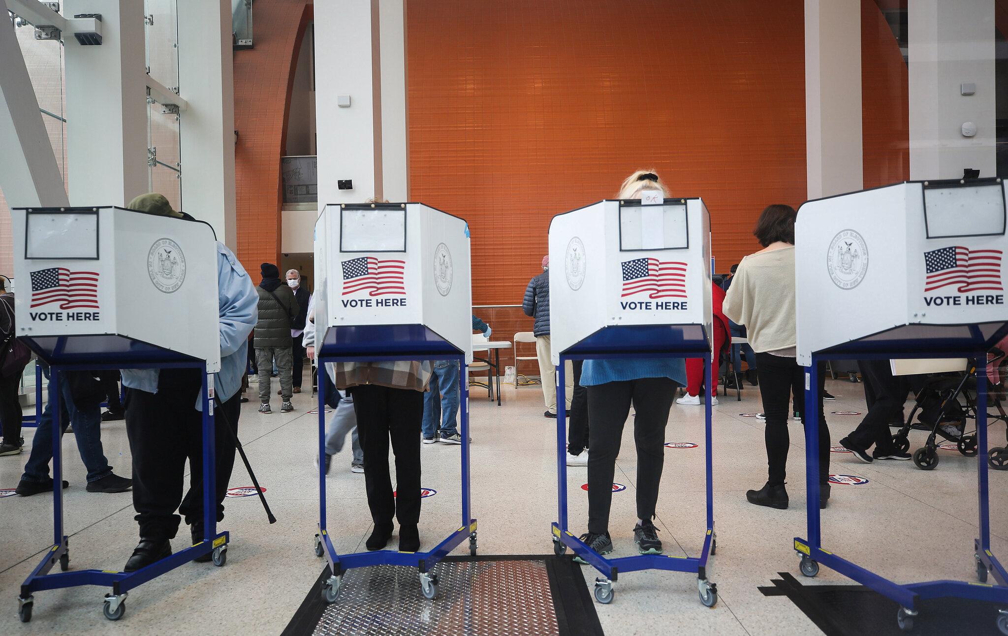 máquinas de votación