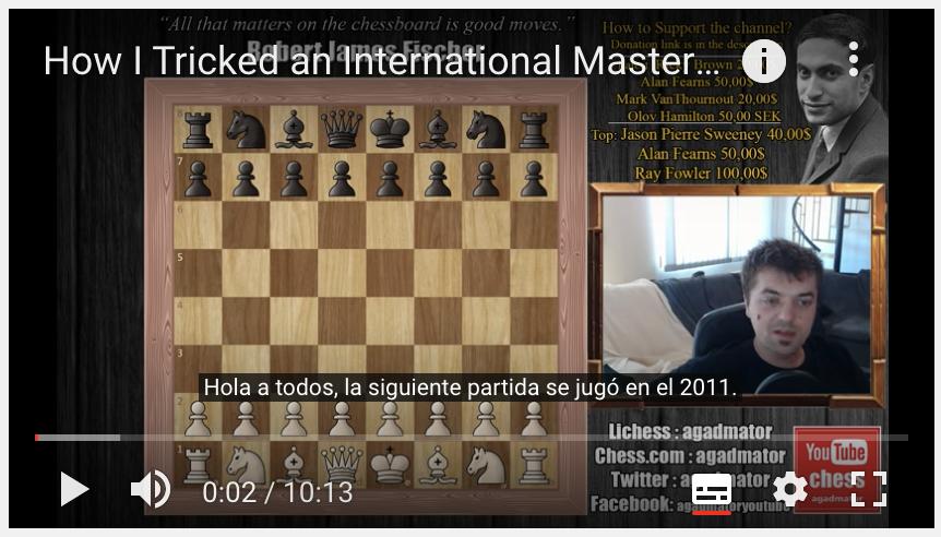 canal de ajedrez