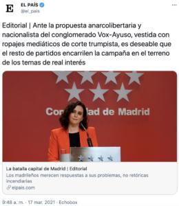 ridículo editorial