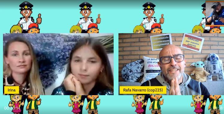 Entrevista con Thalía, la niña de 12 años que sufrió acoso y  amedrentamiento por parte de la Policía Local de Alcantarilla (Murcia), y  con su madre - El Diestro