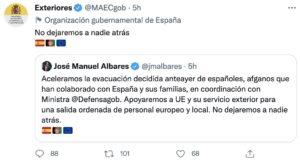 embajada de España en Afganistán