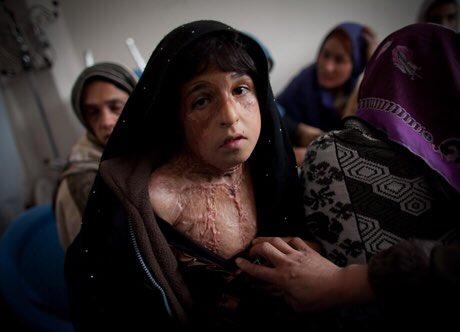 mujeres en un Afganistán